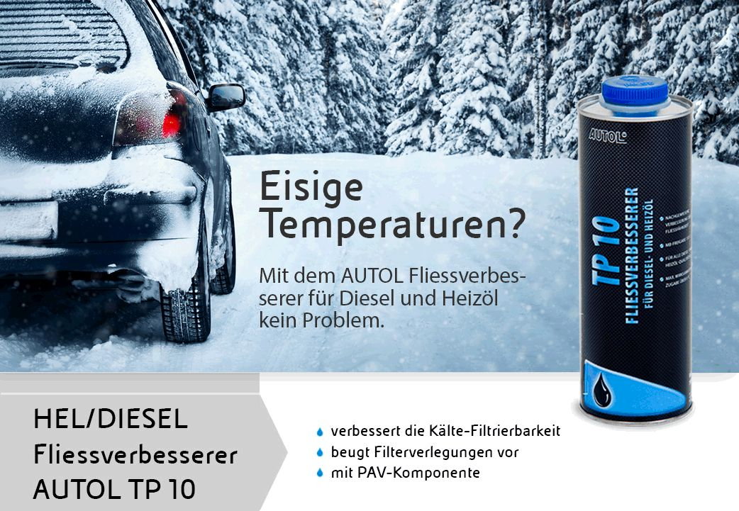Diesel Additiv TP 10 - Fliessverbesserer
