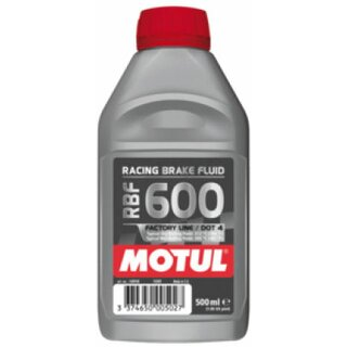 Motul RBF 600 Racing Brake Fluid, 500ml