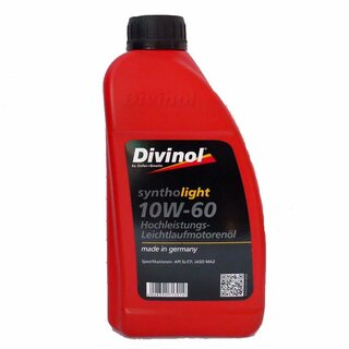 Divinol Syntholight 10W-60, 1 Liter