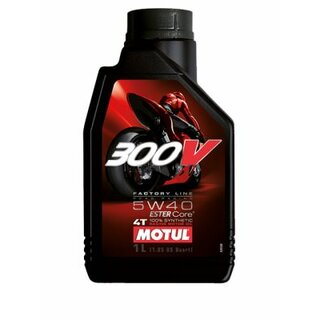 Motul 300V 4T FL Road Racing 5W-40, 1 Liter
