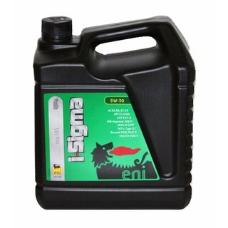 eni i-Sigma top MS 5W-30, 5 Liter