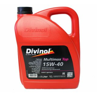 Divinol Multimax Top SAE 15W-40, 5 Liter